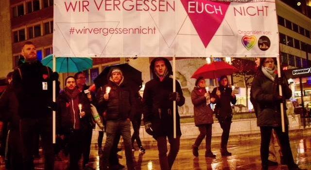 """27.01.2019: Gedenktag an die Opfer des Nationalsozialismus unter dem Motto """"Wir vergessen euch nicht!"""""""