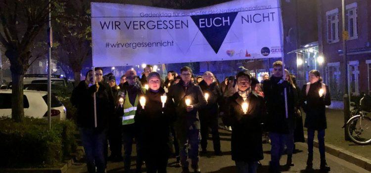 """26.01.2020: Tag des Gedenkens an die Opfer des Nationalsozialismus unter dem Motto: """"Zusammen. Erinnern. Gedenken. Leben!"""""""