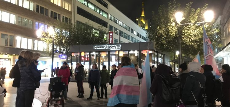 Transgender Day of Remembrance (TDOR)