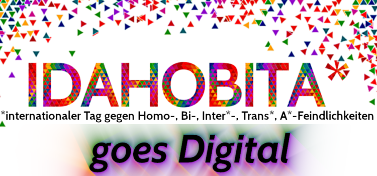 IDAHOBITA* 2020 goes Digital